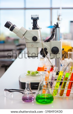 Tool in the lab - stock photo