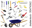 tools - stock photo