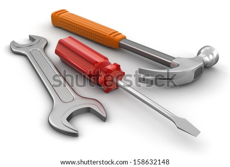 Tools (clipping path included)