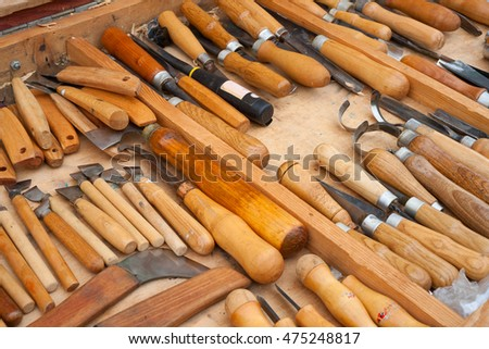 Tools for carving on wood