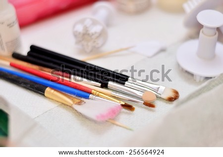 Tools for Crafting Sugar Doll