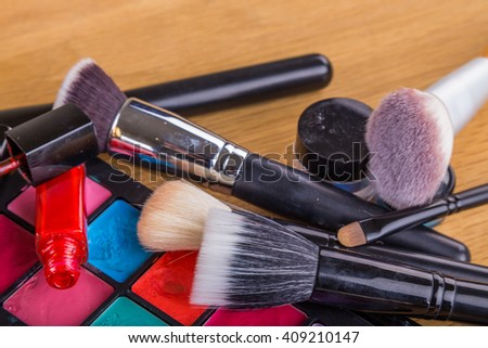 Tools for make-up artist