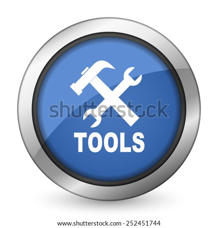 tools icon   - stock photo