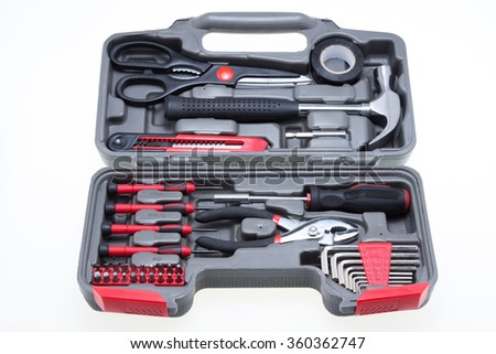 Tools kit box for home