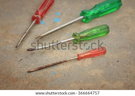 tools screwdriver with wrench