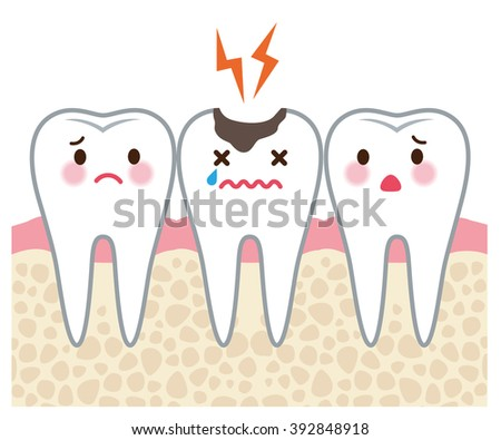 "tooth men and tooth decay ""section view"""