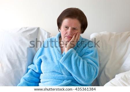 Toothache - stock photo