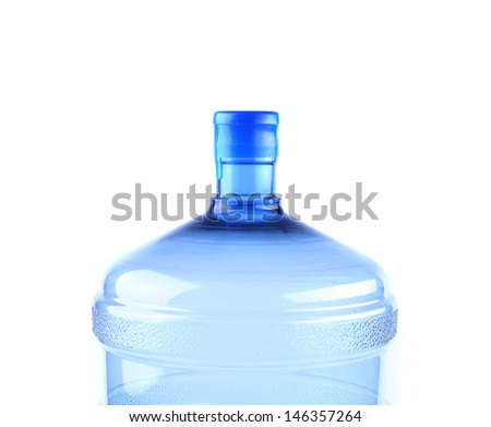 Top big bottle of water for delivery - stock photo