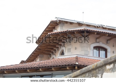Top of a house