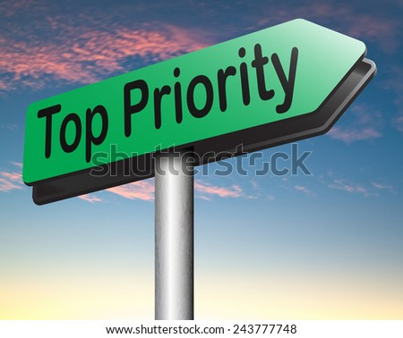 top priority last opportunity do it now important very high urgency info lost importance crucial information dont forget  - stock photo