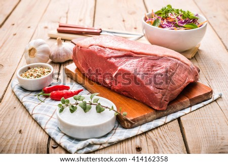 Top sirloin, Rump Steak