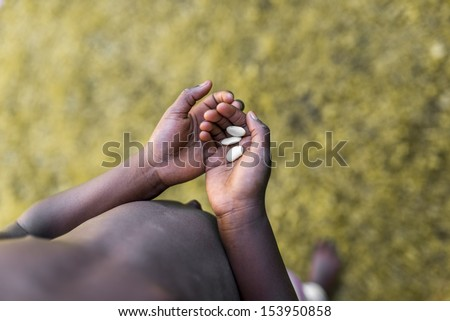African Americans Holding Hands