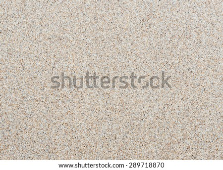 Top view of sand on the beach texture and background