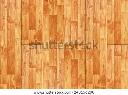 Top View of Seamless wood laminated parquet floor texture pattern as interior design background - stock photo