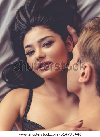 Very young couple having sex