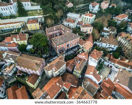 Top View of Sintra Residences, Portugal