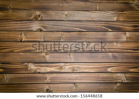 top view of vintage wooden background - stock photo