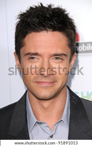 "Topher Grace at the ""Take Me Home Tonight"" Los Angeles Premiere, Regal 14, Los Angeles. CA. 03-02-11"