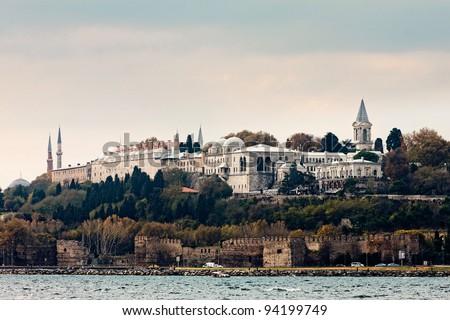 Topkapi Palace, Istanbul, turkey - stock photo