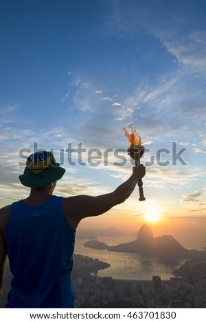 Torchbearer Stock Images, Royalty-Free Images & Vectors ...