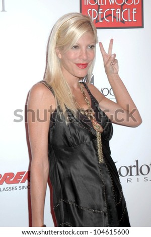 Tori Spelling  at the Grand Opening of 'A Hollywood Spectacular'. A Hollywood Spectacular, West Hollywood, CA. 08-12-09 - stock photo