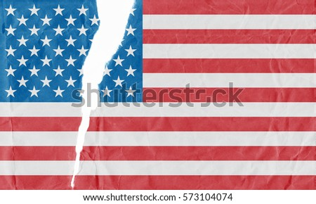 Torn American Flag Stock Images Royalty Free Images