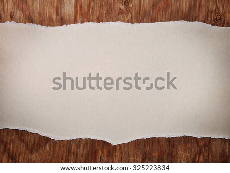 torn paper as background - stock photo