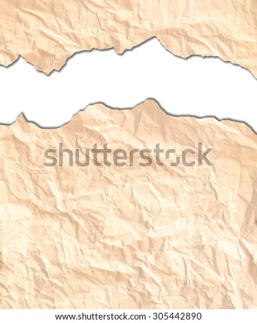 Torn paper  background - stock photo
