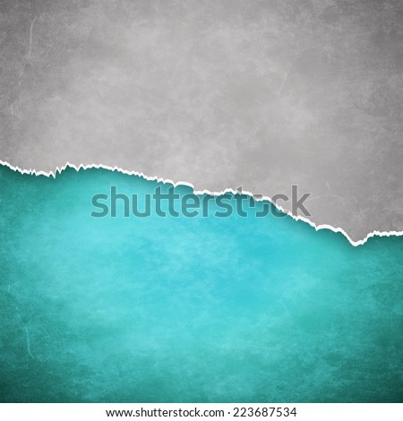 Torn paper background with space for text - stock photo