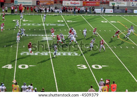 Toronto Argonauts vs. Calgary Stampeders, Canadian Football League (CFL) 2007