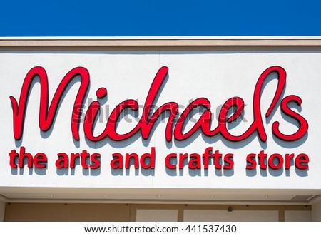 Michaels crafts stock images royalty free images for Craft stores in canada
