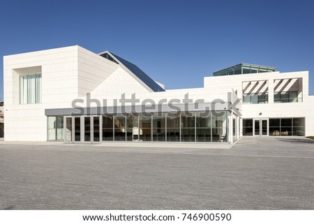 Toronto, Canada - Oct 17, 2017: Exterior view of the Ismaili Centre in Toronto, Canada