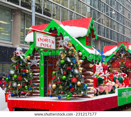 Christmas Parade Float Stock Images, Royalty-Free Images & Vectors ...
