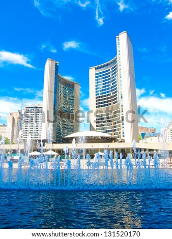 Toronto City Hall - stock photo