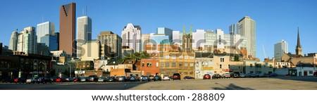 Toronto downtown view - stock photo