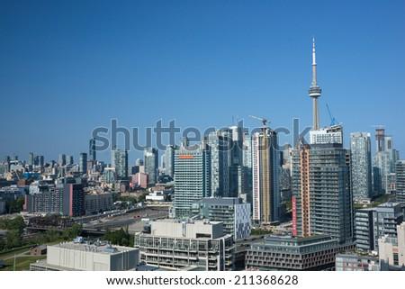 Toronto High Rises - stock photo