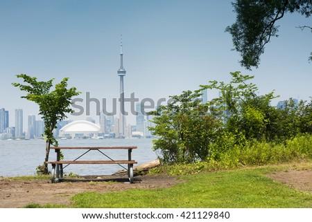 Toronto Islands. Toronto. Ontario. Canada - stock photo