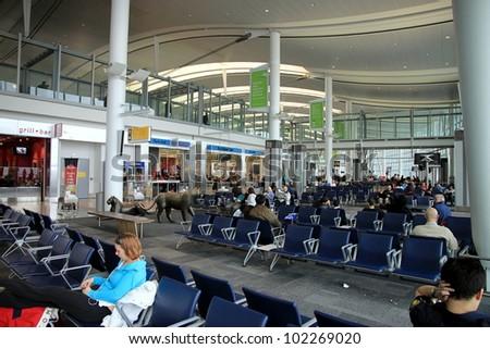 Toronto Pearson Airport Interior a Toronto Pearson Airport