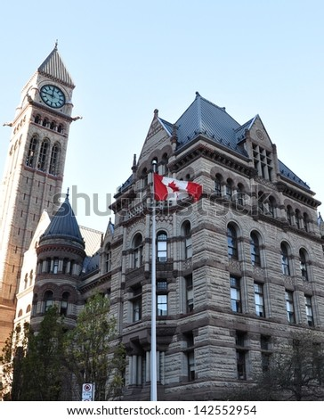 Toronto's Old City Hall - stock photo