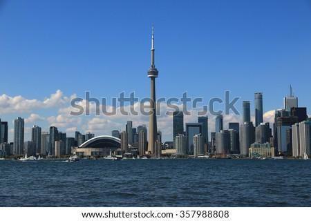Toronto Skyline, Ontario, Canada - stock photo