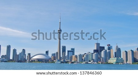 Toronto Skyline Waterfront , Canada