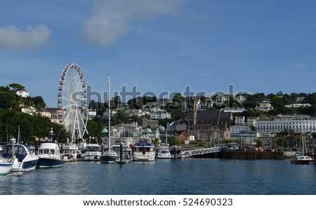 Torquay Harbour as viewed from the sea