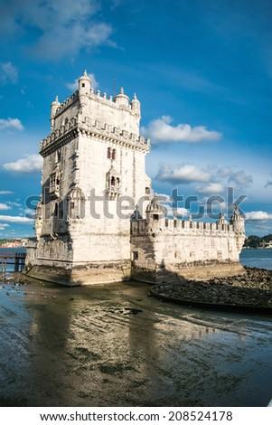 Torre de Belem (Belem Tower)  - stock photo