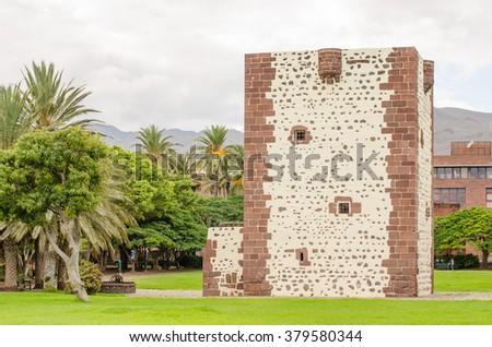 Torre del conde in San Sebastian de La Gomera, Gomera Island, Canary Islands, Spain - stock photo