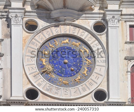 Torre dell Orologio (Clock Tower) in Venice, Italy