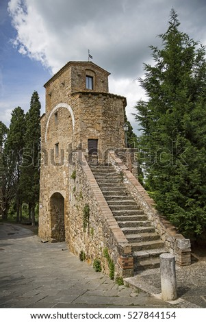 Torre di Giona in Tuscany, Italy