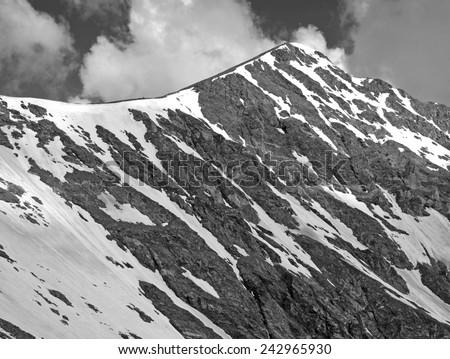Torreys Peak, Colorado 14er in the Front Range, Colorado Rockies - stock photo
