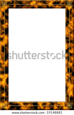 Tortoise Shell Frame - stock photo