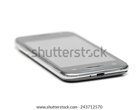 Touch Cell Phone - stock photo