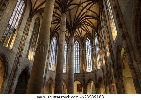 Church Interior Stock Images Royalty Free Vectors